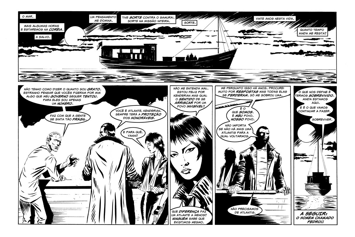 Atlante: Página 34 => Travessia!