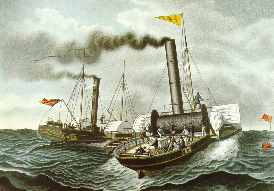 History of the Atlantic Cable  Submarine Telegraphy  Goliath
