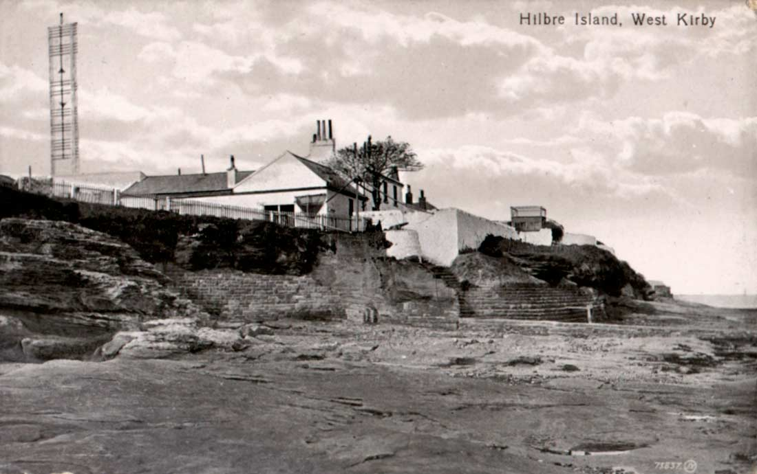Image result for hilbre island old photo