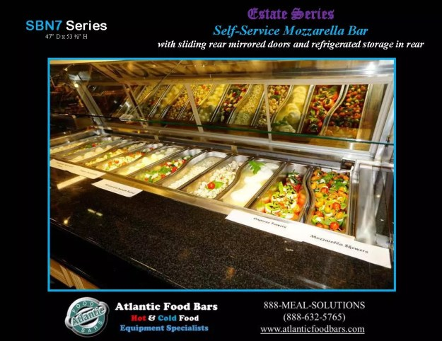 Atlantic Food Bars - Estate Series Self-Service Mozzarella Bar - SB9647N7-DCL-RSD-SC-VH 4