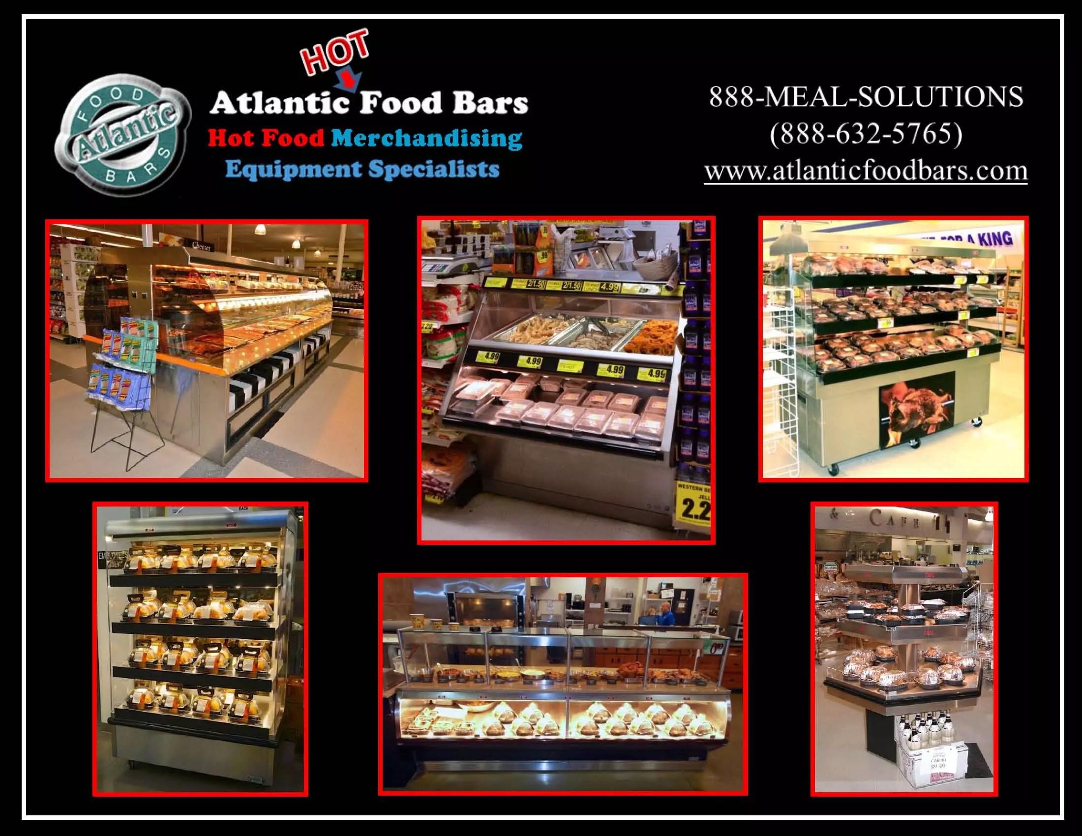 Atlantic Food Bars - Hot Food Cases - Digital Catalog Cover