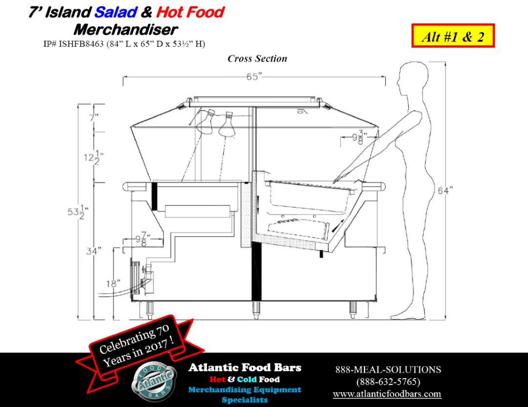 Atlantic Food Bars - Hot and Cold Display Case Lineup Drawings - BILR SOG ISHFB_Page_6