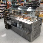 Mobile Olive Bar with Air Overflow Refrigeration - Atlantic Food Bars - MRM6044-AOF 1