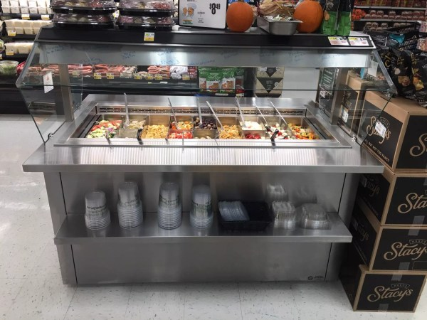 Mobile Olive Bar with Air Overflow Refrigeration - Atlantic Food Bars - MRM6044-AOF 3