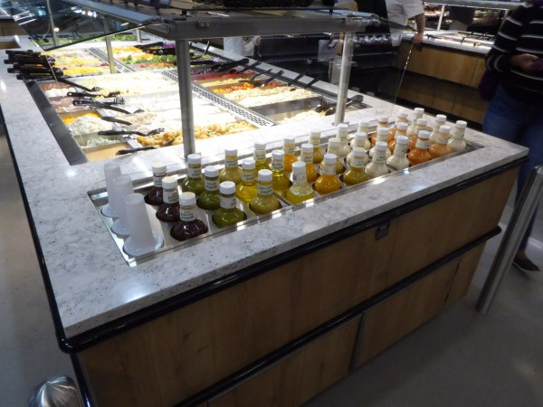 Island Salad Bar with CO2 Refrigeration - Atlantic Food Bars - ISB14868-CO2-ELP-FPR-RBD-VH 1