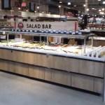 Island Salad Bar with CO2 Refrigeration - Atlantic Food Bars - ISB14868-CO2-ELP-FPR-RBD-VH 2