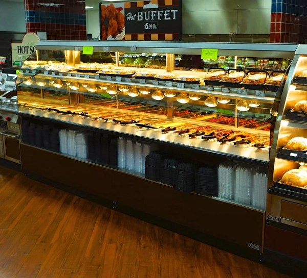 Nantucket Combination Hot Bulk over Hot Packaged Food - Atlantic Food Bars - NAN14436 1