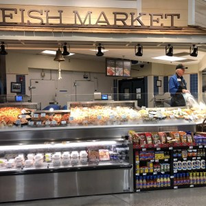Refrigerated Seafood Merchandisers with Wedge and Front Grab and Go Knee Knockers for Cold Packaged Food - Atlantic Food Bars - FSC-KKV FSCN-W2 2
