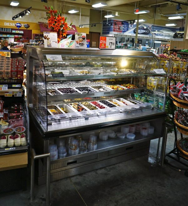 3 Level Refrigerated Olive Bar - Atlantic Food Bars - BILR7138 4