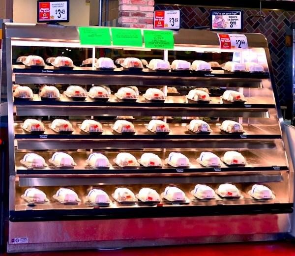 Five Level Hot Chicken Case - Wrangler Giant - Atlantic Food Bars - WR9629T-AS2-SRM 2