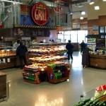 Island Express Plus Three Level Hot Grab and Go Merchandiser - Wide Model - Atlantic Food Bars - IMN7245-AS 2