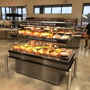 Island Express Rotisserie Chicken and Hot Packaged Food Merchandiser - Two Levels - Atlantic Food Bars - IMN7232 1