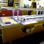 Narrow Island Salad Bar with Tray Slide - Atlantic Food Bars - ISBN8744-TS 2