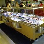 Narrow Island Salad Bar with Tray Slide - Atlantic Food Bars - ISBN8744-TS 3