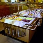 Narrow Island Salad Bar with Tray Slide - Atlantic Food Bars - ISBN8744-TS 4
