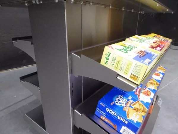 Next Gen Mobile Packaged Hot Food Merchandiser - Single Level - Atlantic Food Bars - HH3625-NG 2a