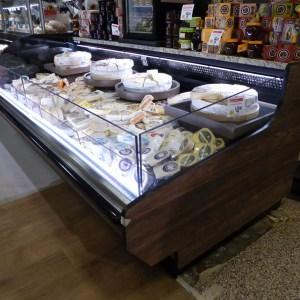 Refrigerated Cheese Display Case - Customized Low-Profile Multi-Deck Grab & Go Merchandiser - Atlantic Food Bars - ILR 1
