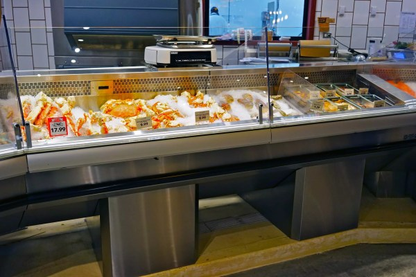 Refrigerated Seafood Display Cases on Pedestal Bases - Atlantic Food Bars - FSCN-W-P 4