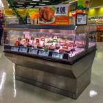 Single Level Shop Around Hot Rotisserie Chicken Grab and Go Merchandiser - Atlantic Food Bars - IHH6353 1