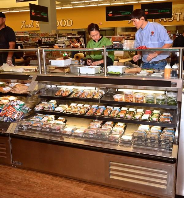 Sushi Bar and Sandwich Prep Station - Atlantic Food Bars - SILR 5