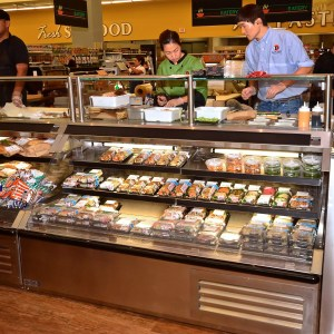 Sushi Bar and Sandwich Prep Station - Atlantic Food Bars - SILR 5