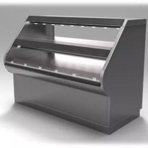 Wrangler Two Level Packaged Hot Food Merchandiser - Atlantic Food Bars - WR7242-RP 2