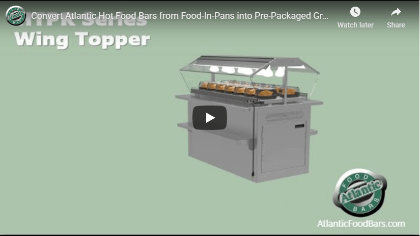 Atlantic Food Bars - HTPR Wing Topper - YouTube Play Preview