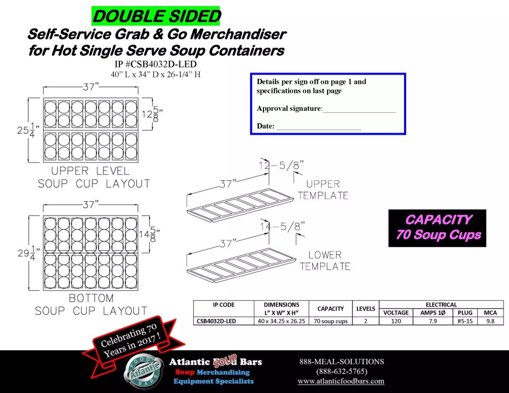 Atlantic Food Bars - Single and Double Sided Hot Soup Saver for Conversion to Grab and Go Soup Merchandising - CSB Drawings_Page_6