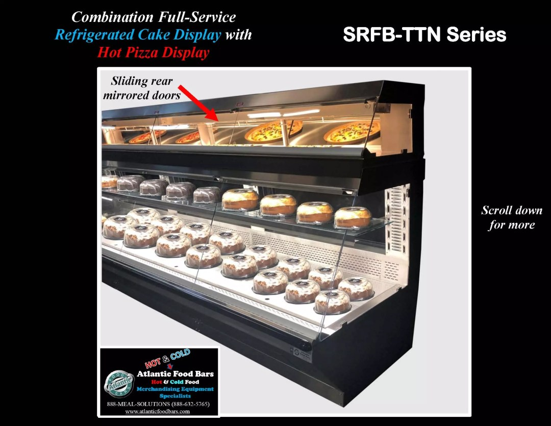 Atlantic Food Bars - Combination Full-Service Refrigerated Cake Display Case with Full Service Hot Pizza Display - SRFB-TTN14440_Page_2