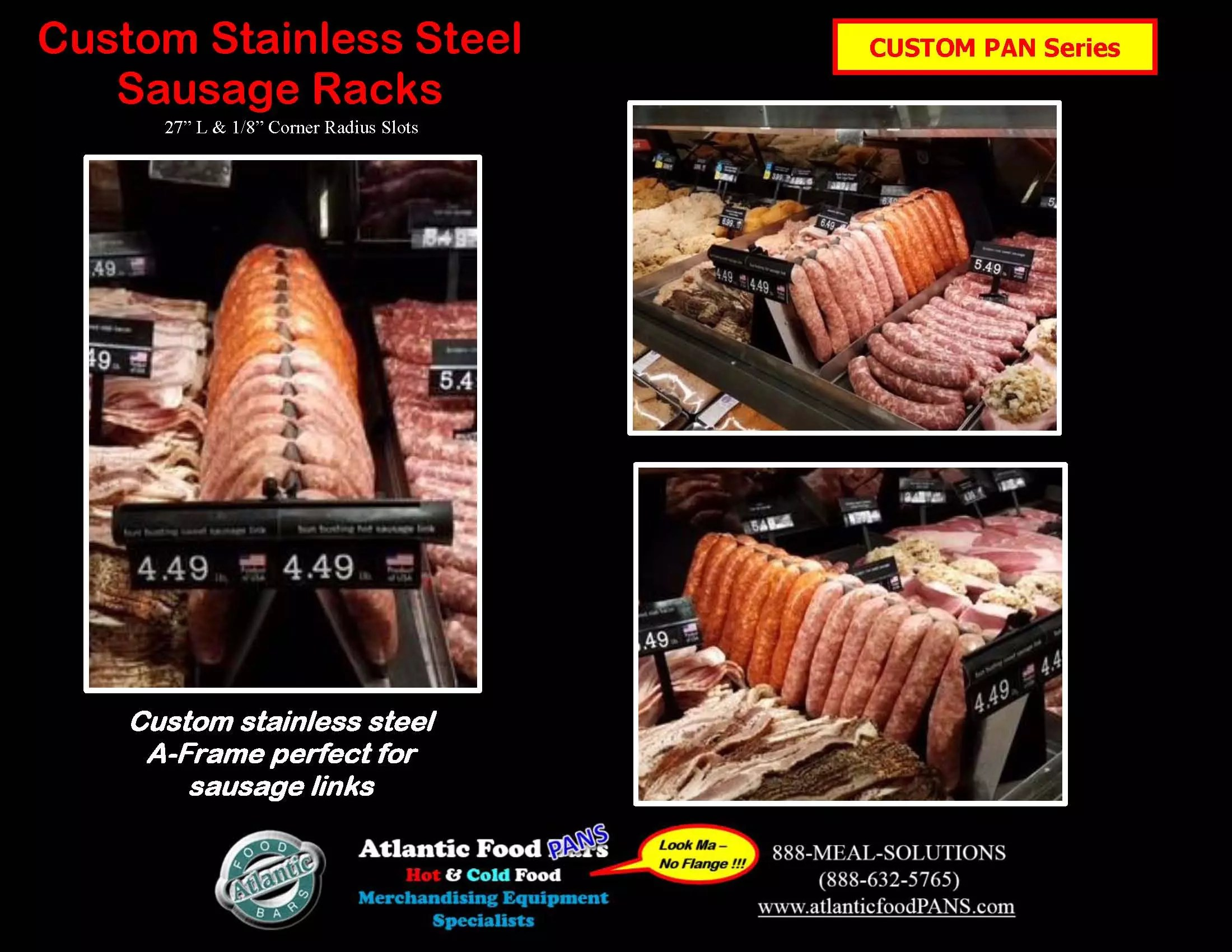 Atlantic Food Bars - Custom Stainless Steel Sausage Racks for Meat Cases_Page_1