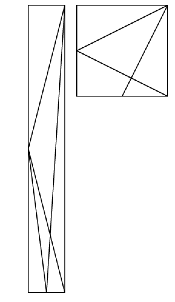 In the figure above ABCD is a rectangle and point K is the