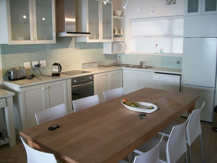 Mimosa Apartment 2 bedroom sea Point Cape Town Luxury Holiday Flat Rental Property Atlantic Letting dining room image