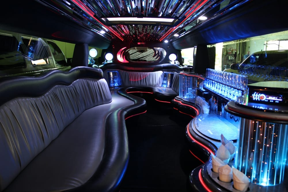 Hummer Stretch Limousine 14 Passenger  MaineLimousine