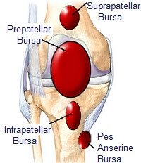 knee pain bursitis Atlantic Medical Group Canton