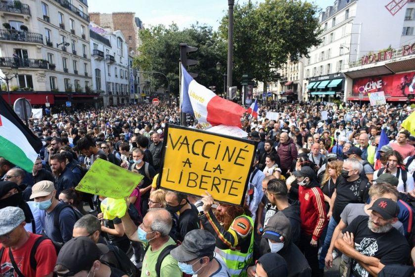 A Paris, quatre cortèges différents ont défilé.