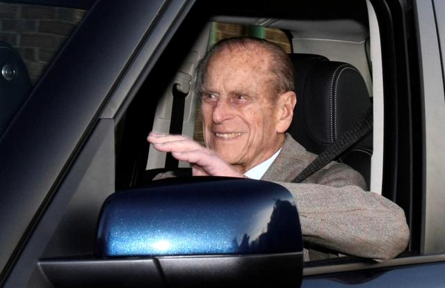 UK's Prince Philip, 97, Escapes Unhurt After Road Crash Near Royal Estate