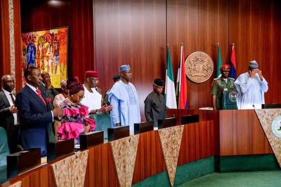 What Buhari Said At The Valedictory FEC Session