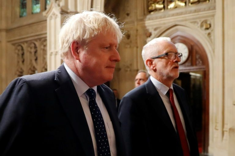 Johnson has repeatedly said Brexit must happen this month (AFP Photo/Tolga AKMEN)