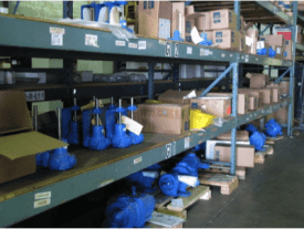 Hayes Pump Parts Inventory