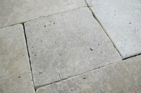 Walnut Tumbled French Pattern Travertine Tiles - Natural ...