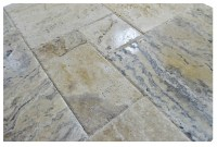 Philadelphia Brushed Chiseled French Pattern Travertine ...