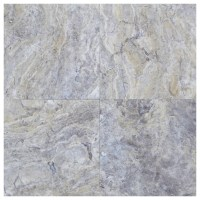 Silver Honed Filled Travertine Tiles 18x18 - Natural Stone ...