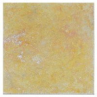 Gold Honed Filled Chiseled Travertine Tiles 18x18 ...