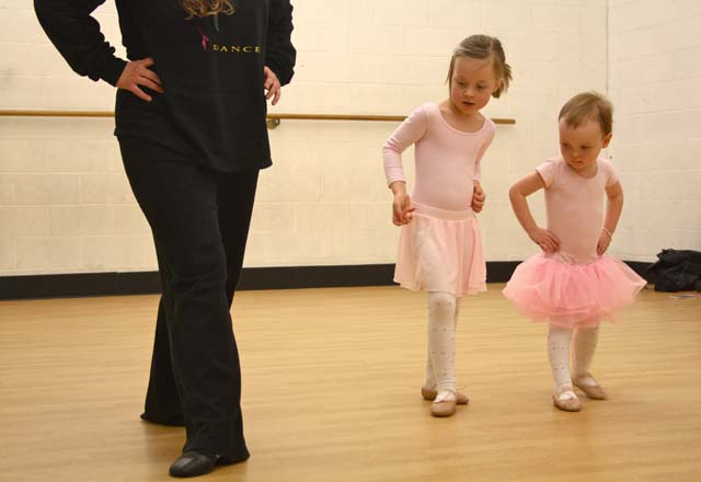Small Business Photography for Dance school in CT