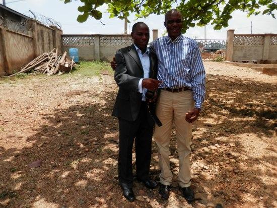 AWPS President  with Konsadem MD