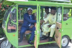 Oldang International Limited unveils Solar Powered Tricycles in Lagos