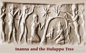 Inanna si arborele Huluppu