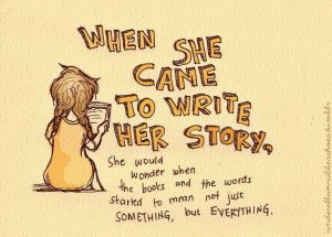 Liesel - When she came to write her story