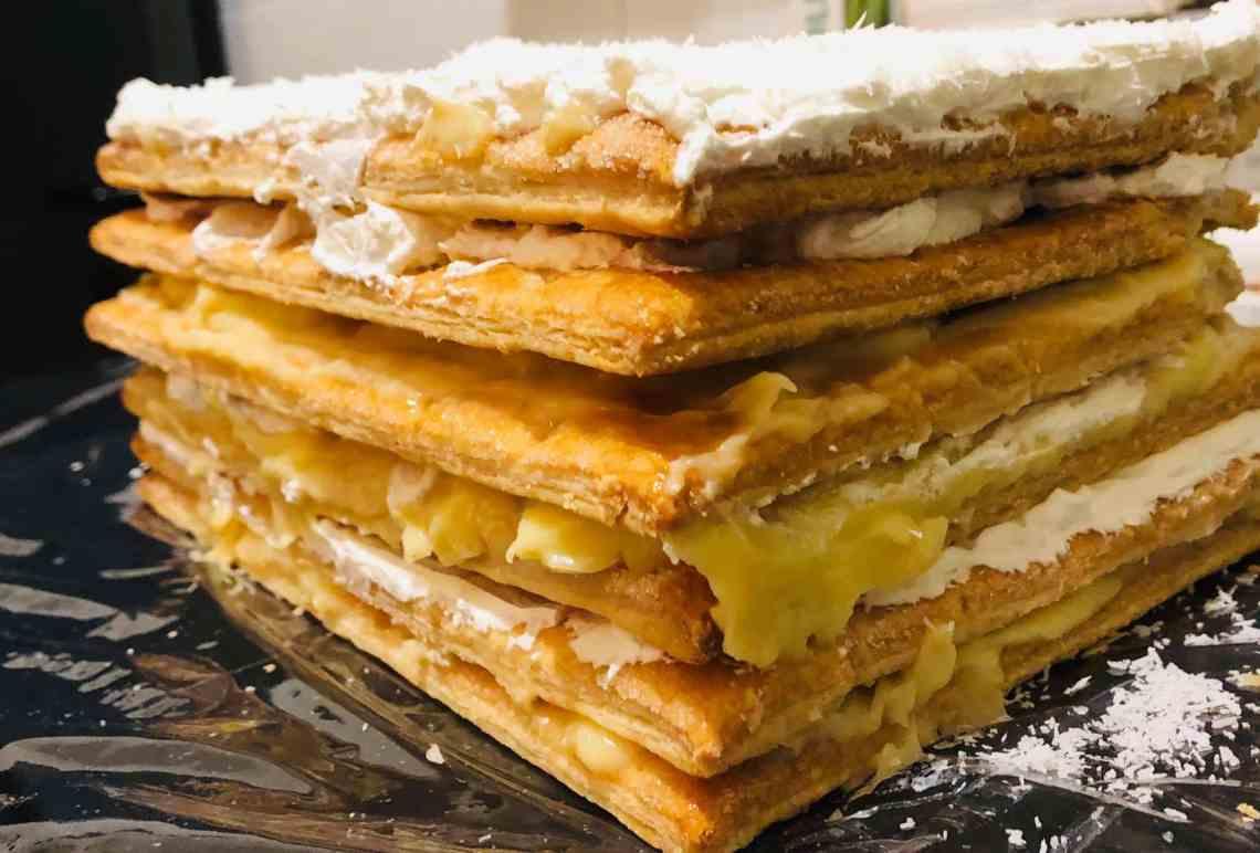 Prăjitura de weekend: Millefoglie con la crema pasticcera e la chantilly