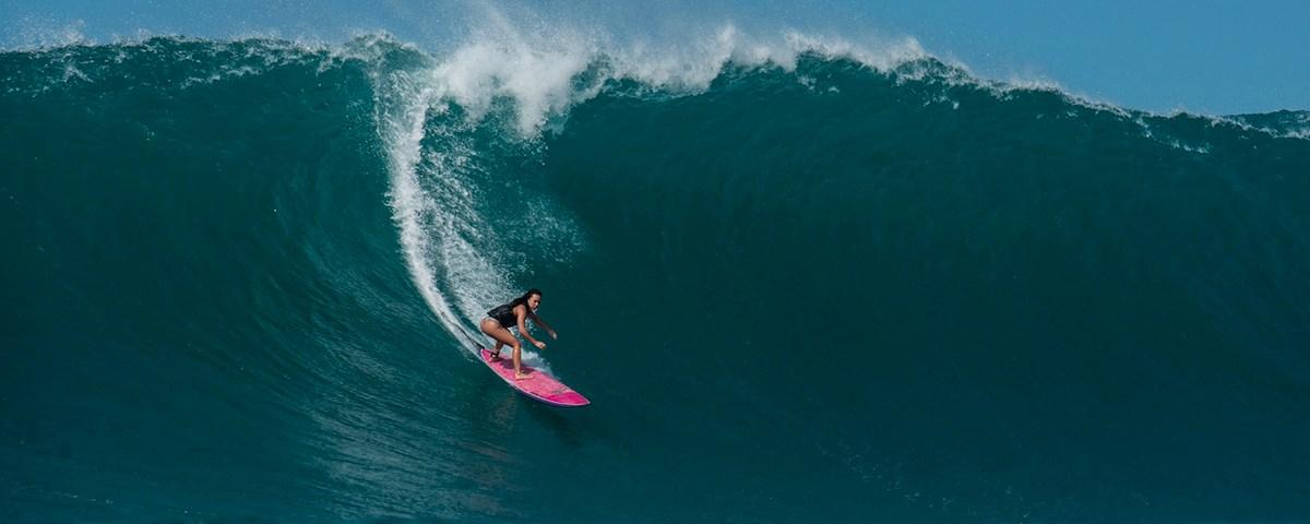 Big Wave surfer Makani Adric
